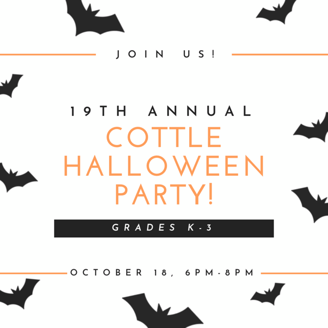Tuckahoe PTA's 19th Annual Cottle Halloween Party takes place on October 18th