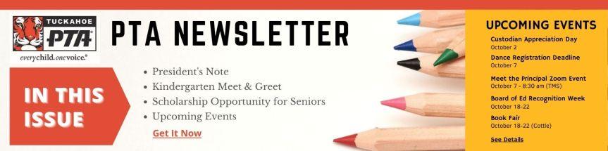 PTA Newsletter – Issue1